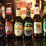 パクチー丸太町 - アジアのビール飲み比べ