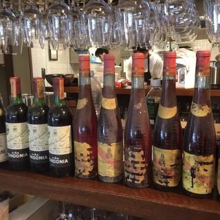 スペインワインが50~60種類