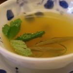 料亭 やまさ旅館 - スッポンの甲羅出汁スープ