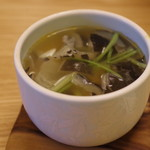 料亭 やまさ旅館 - スッポン出汁の茶碗蒸し