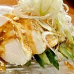 炭火焼火乃酉YOKOHAMA - しっとり柔らか蒸し鶏のよだれ鶏風 四川の味