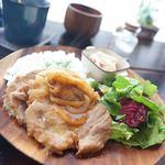 パウンドケーキのお店 CafeRain - ポークジンジャープレート