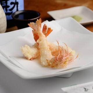 無性に天ぷらが食べたい!そんな方には天ぷら三昧のコースを