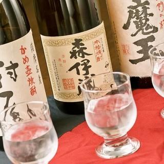 【品揃え◎】こだわりの日本酒と焼酎