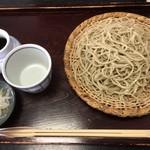 正直庵 - 料理写真:もりそば(大盛り)