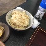 正直庵 - 玄米ご飯
