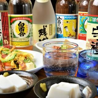 沖縄名物にはやっぱり泡盛が一番!古酒もあります!!