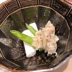 81572976 - 毛蟹のポテトサラダ