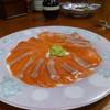 そば処 やり屋 - 料理写真:信州サーモン
