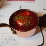 オーデリス - 生クリームと苺のソース