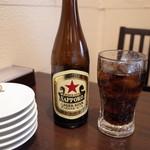 翠葉  - 瓶ビール&コーラ