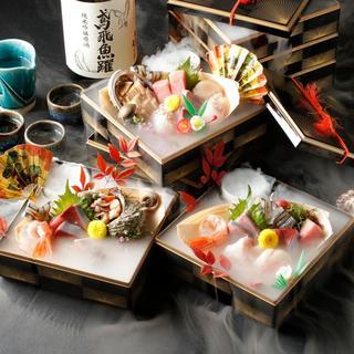 当店自慢◎極上鮮魚7種盛り『三代目玉手箱』