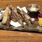 土香る - 島ゴボウの唐揚げ