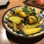 土香る - 島人参と葉にんにく、塩豚のチャンプルー