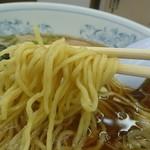 福しん - 縮れ麺