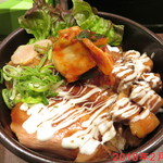 麺処 とりぱん - 2種のチャーシュー丼 \400