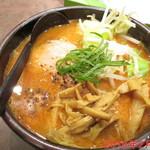 麺処 とりぱん - 辛みそ(2辛) \870