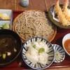 蕎麦屋 山都 - 料理写真:黒カレー御膳