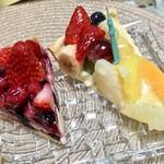 キル フェ ボン - 季節のフルーツタルト 718円