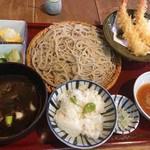 蕎麦屋 山都 - 黒カレー御膳