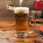 ブロシェットブッチャーズ STEAKぶぶ - 生ビール