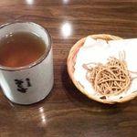81586341 - お茶&おつまみ