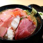 春夏秋冬 - 20180226海鮮丼・アップ2