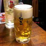 紅とん - 生ビール¥450 2018.2.21