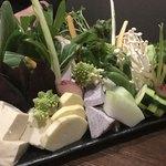 金武 - 県産野菜盛り合わせ