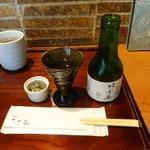 鴨屋 そば香 - 本醸造(1合瓶)650円