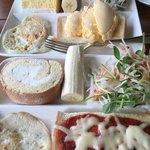 洋駄菓子工房 ル マサ - アイスのせとピザのモーニング