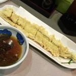 魚谷 - 穴子白焼の天ぷら