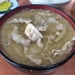 かどや - 料理写真:ぶた汁320円税込