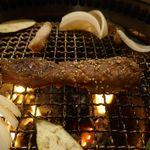 たなか畜産 東十条店 - _1370264 続いてはドーンと大きな「中落ち」を焼いていきますが