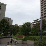 Sutabakkusukohi - 順天堂大学病院と看板
