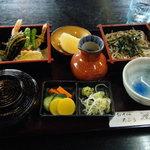 蕎麦cafe dining いろは - 料理写真:そば定食