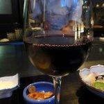8160548 - グラスワイン(赤) ¥1000
