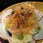 炫 - 【ディナーコース 蔵】新鮮野菜サラダ