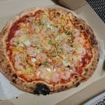 81601026 - エビたっぷりピザ