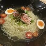 龍旗信LEO - 名物 塩冷麺