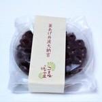 茶丈藤村 - 釜あげ丹波大納言