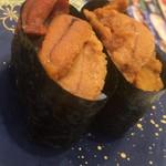 回転寿司 まつりや - 料理写真:うに!