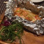 鉄板Dining祇園 翔 - 鮭ホイル焼き