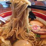 きく屋 - 麺ズームアップ