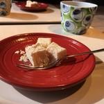 白川 - 5.豆乳で作ったわらびもち