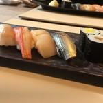 白川 - お寿司アップ