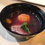 白川 - 2.愛媛産真鯛と紅芯大根の真丈