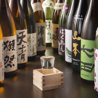 藤沢で地酒は「たくを」におまかせ