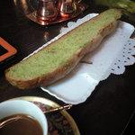 8161551 - ガーリックソースのフランスパン