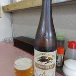 イシヰ飯店 - ビール大瓶(\550)